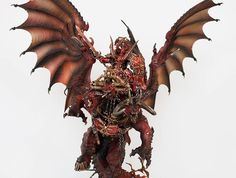 Age of Sigmar Warhammer Aos, Warhammer Fantasy, Warhammer 40000, Chaos 40k, Chaos Lord, Fantasy Figures, Fantasy Races, Archaon The Everchosen, Tabletop