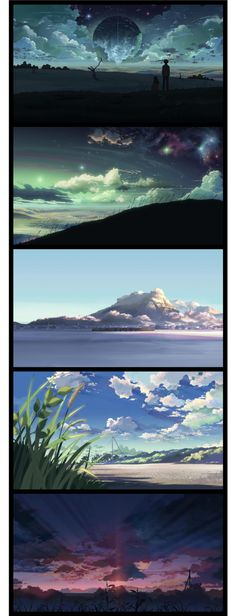5 Centimeters Per Second (2007). Directed by Makoto Shinkai. Created by CoMix Wave Inc.