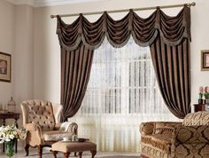 Amazing Swag Curtains For Living Room IdeaC03