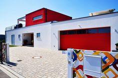 Bauhaus Architektur Einfamilienhaus einfamilienhaus modern wohnen nachtansicht schönerwohnen