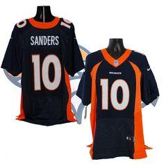 #10 Emmanuel Sanders Denver Broncos Nike Jersey #Nike #DenverBroncos