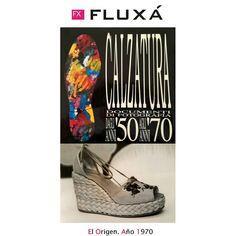 El origen de Fluxá. Única marca española que aparece en el libro de la historia de la moda de Italia. #origen #historia #historic #modafeminina #fashionshoes #tendencias #trendy #items #fluxa #fluxashoes