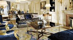 The Presidential Suite, Four Seasons Hotel George V, Paris