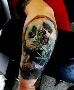panda by anju tattoo