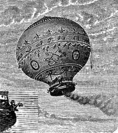 Hermanos Montgolfier: globo