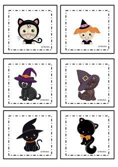 Spookjesspel 2 Juf Berdien kaartjes spookjes thema halloween griezelen volledige spel Facebookgroep: 'Juf Berdien'