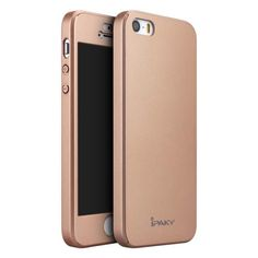 Köp IPAKY Full Protection Case for iPhone SE/5S/5 rose gold online: http://www.phonelife.se/ipaky-full-protection-case-for-iphone-se-5s-5-rose-gold
