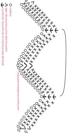 Zig Zag Crochet, Crochet Stitches, Crochet Patterns, Chevron, Crochet Home Decor, Crochet Projects, Symbols, Letters, Recycling Ideas