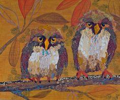 """""""Two Owls in Branch"""" par Elizabeth St Hilaire Nelson"""