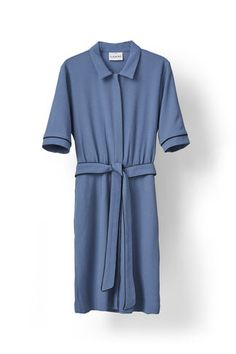 Clark Dress, Moonlight Blue Ganni 1099 kr