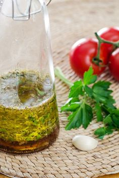 This Italian dressing recipe is so easy to make. Just throw a few fresh ingredients in a bottle and shake. It's paleo, gluten-free, and dairy-free. | cookeatpaleo.com
