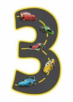 Trendy Baby Boy Clipart For Kids Cars Birthday Parties, 3rd Birthday, Birthday Numbers, Piñata Cars, Lightening Mcqueen, Disney Cars Party, Best Baby Gifts, Car Themes, Barbie Party