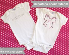 15 Personalized Onesie Ideas - Do Small Things with Love