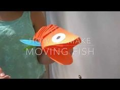 How To Make A Super Cool Moving Fish Out Of Paper! • AwesomeJelly.com
