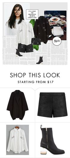 """""""1102"""" by melanie-avni ❤ liked on Polyvore featuring J Brand, Helmut Lang, Alice + Olivia, Jaggar and Mansur Gavriel"""