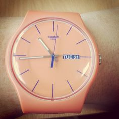 ORANGY PINK REBEL #Swatch http://swat.ch/1frehQ5