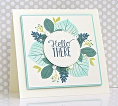 Welcome to Day 8 of Papertrey Ink's 10th Year Celebration!  I've chosen 2014's Leave It Be , a beautiful stamp set that can stand on it...