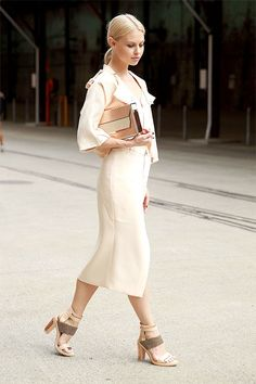 Autumn Whites | Fall & Winter Fashion