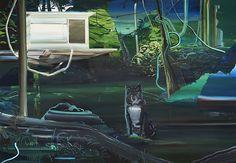 A casa na árvore, 2015, OST, 190x250cm, Rafael Zavagli - Rafael Zavagli
