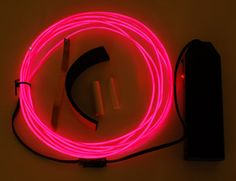 Diy neon sign make your own neon lights sign home pinterest el wire starter pack pink meter ft for my diy neon sign solutioingenieria Gallery
