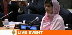 """The UN has declared her birthday, July 12, as """"Malala Day""""."""