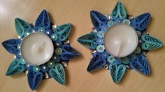 Quilling,Quilling deepas,Quilling candles, jewellerys, Quilling Gift, Quilling Art