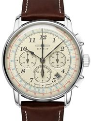Graf Zeppelin 34 Jewel Automatic Chronograph Watch With K1 Sapphire Coated Crystal 7624 5 Chronograph Watch Chronograph Best Watches For Men