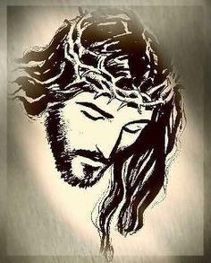 easy drawings of jesus christ jesus stencil sketch tattoo de clipart pinterest. Black Bedroom Furniture Sets. Home Design Ideas