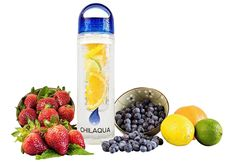 Our infuser bottle is made of durable Tritan copolyester material, which is odorless, tasteless, stain resistant and safe. None of those plastic chemicals you read about in the news. #sale #amazon