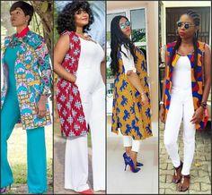 Trend Alert: Ankara Kimono Style To Try This Month