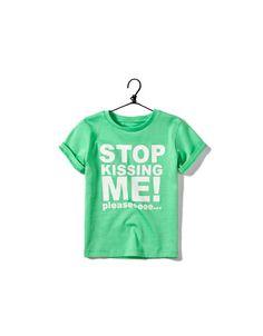 stop kissing me // ZARA