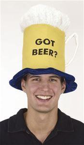 Beer Mug Adult Hat - 102814 | trendyhalloween.com #oktoberfest #beerhat