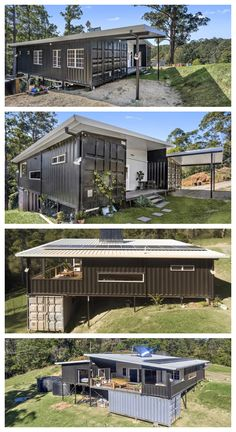 Crystal's Palace Luxury Container Home – Container häuser Shipping Container Home Designs, Cargo Container Homes, Building A Container Home, Shipping Container House Plans, Container Buildings, Container Architecture, Shipping Containers, Future House, Luxury Homes