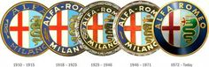 Old Alfa-Romeo logos