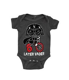 Star Wars Baby Clothes. Wow would my husband go nuts for this or what?!