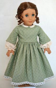 American Girl 18 Inch Doll Dress Historical by JennyWrensDressShop, $55.00