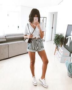 Then drop by us. NYBB has inexpensive and elegant outfits & accessories. M # outfits # outfitinspiration Spring Summer Fashion, Spring Outfits, Trendy Outfits, Cute Outfits, Fashion Outfits, Womens Fashion, Fashion Clothes, Fashion Fashion, Shorts Vintage