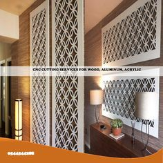 WALL PANEL, DECORATIVE PANEL, CAN BE MADE AS PER CUSTOMER CHOICE, MASHRABIYA DESIGN IS DEMAND OF MOST OF CUSTOMERS WE NEED ONLY MEASUREMENTS REST OF THING WILL DO OUR CRAFTS MEN 0971544544288 Decorative Panels, Different Shapes, Custom Design, Rest, Wall Decor, Wood, Crafts, Furniture, Home Decor