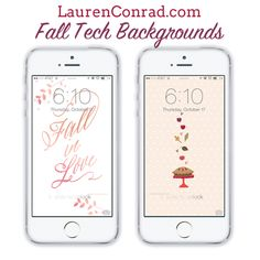 LaurenConrad.com Fall Wallpapers