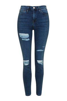 MOTO Super Rip Jamie Jeans - Topshop