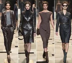 Milan Fashion Week Trussardi Fall/Winter 2015-2016 Dresses