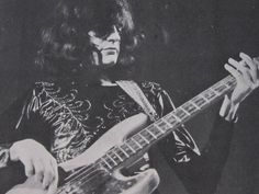 Uriah Heep Stockholm 1974 Gary Thain
