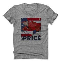 David Price Box R Boston Officially Licensed MLBPA Scoop Neck T-Shirt S-XL