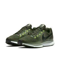 0fa57a77112d0 Nike Air Zoom Pegasus 34 Mens Running Shoes Sequoia Black Dark Stucco Volt   Nike