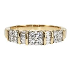 1/2 ct. tw. Diamond Band in 10K Gold available at #HelzbergDiamonds item #2010308 $899
