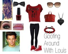 """Goofing with Louis! xD"""