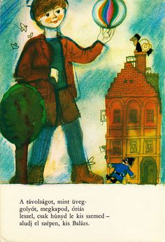 I got this simple little book printed on foldout cardboard from my mother at the age of three, and I was very impressed. The deep colors rea. Berlin, Little Books, Fairy Tales, Night, Prints, Blue, Painting, Color, Poems