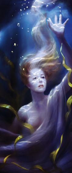 How to paint underwater lighting effects   Digital art   Creative Bloq
