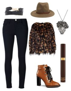 """""""Pandora"""" by pandoracorreia on Polyvore featuring Frame Denim, Dries Van Noten, Tod's, rag & bone, Yves Saint Laurent, Mulberry and Tom Ford"""