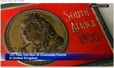 Βρέθηκε σοκολάτα -δώρο της βασίλισσας Βικτώριας- μετά από 121 χρόνια! - www.olivemagazine.gr Old Boxes, National Trust, Chocolate Box, United Kingdom, The Unit, Room, Old Crates, Bedroom, England
